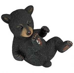 Design Toscano QM2592800 Roly-Poly Bear Cub Statue Rolling Bear