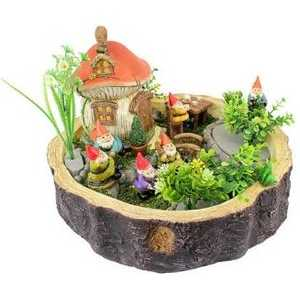 Design Toscano SH381601 Tiny Forest Friends Gnome Garden Statue Collection