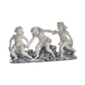 Design Toscano EU31601 Ring Around The Rosie Dancing Little Girls Statue
