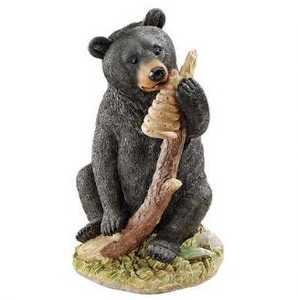 Design Toscano QL56987 Honey The Curious Bear Cub Statue