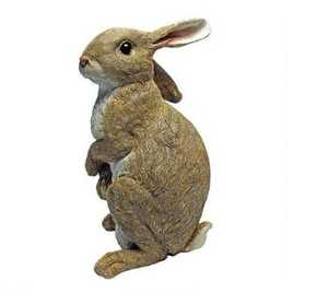 Design Toscano QM200681 Hopper The Bunny Standing Garden Rabbit Statue
