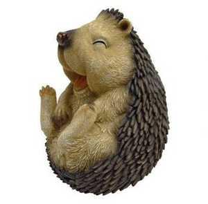 Design Toscano QM22558 Roly-Poly Laughing Hedgehog Statue