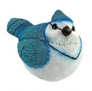 Design Toscano QM25972001 Blue Jay Burly Bird Statue
