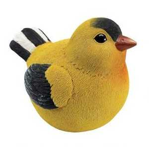 Design Toscano QM25962402 Goldfinch Burly Bird Statue