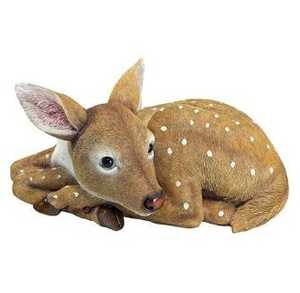 Design Toscano QM2737500 Hershel The Forest Fawn Baby Deer Statue