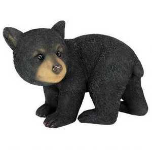 Design Toscano QM2594300 Roly-Poly Bear Cub Statue Walking