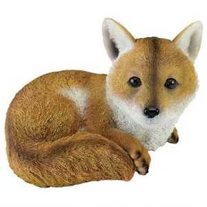Design Toscano QM2585100 Diablo The Baby Red Fox Statue