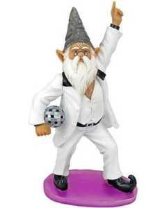 Design Toscano QM15010 Disco Tony Gnome Fever Statue