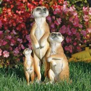 Design Toscano QL56971 The Meerkat Family Sculpture