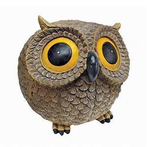 Design Toscano EU2904 Puffy The Roly-Poly Garden Owl Statue