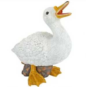 Design Toscano QM2855000 Darnell The Duck Spitter Piped Statue