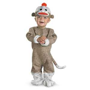 DISGUISE 1769W-I Sock Monkey