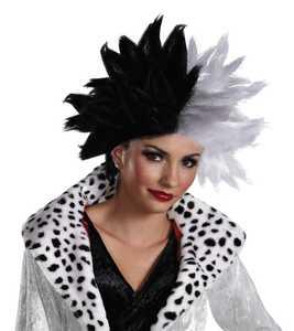 DISGUISE 18267-I Cruella De Vil Deluxe Adult Wig