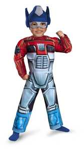 DISGUISE 42643M Optimus Rescue Bot Toddler Muscle