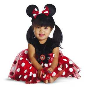 DISGUISE 44958W Red Minnie Deluxe Infant