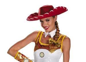 DISGUISE 65194 Jessie Glam Hat & Bow Set