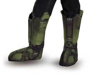 DISGUISE 89999CH Master Chief Child Boot Covers