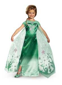 DISGUISE 95782L Elsa Frozen Fever Deluxe