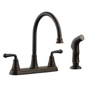 Design House 524736 2 Handle Eden Kitchen Faucet Oil Rubbed Bronze