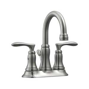 Design House 525840 4 in Madison Lavatory Faucet Satin Nickel