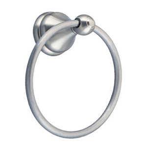 Design House 532978 Satin Nickel Allante Towel Ring