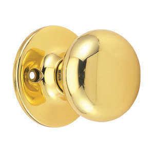 Design House 753251 Dummy Cambridge Polished Brass Boxed