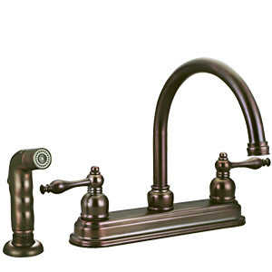Design House 528067 Kitchen Faucet Saratoga Orb