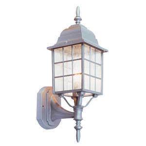 Design House 506089 Uplight Outdoor Earl Grey Sanded Almond