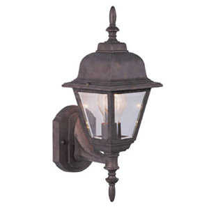 Design House 511485 Uplight Outdoorr Maple Street Copper