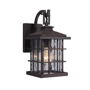 Design House 508275 1-Light Statuary Bronze Townsend Outdoor Down Light Wall Fixture