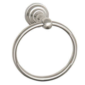 Design House 538355 Calisto Satin Nickel Towel Ring