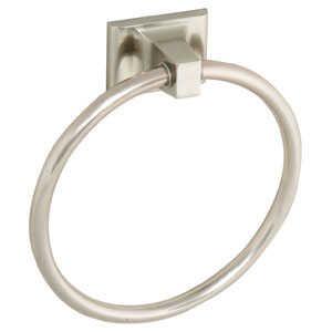 Design House 539163 Millbridge Satin Nickel Towel Ring