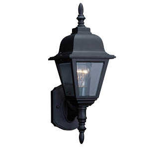 Design House 507566 Up Light Outdoor Maple St Black C Cst