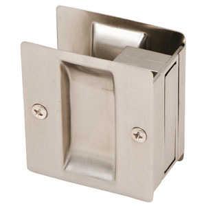 Design House 202812 Satin Nickel Pocket Door Passage