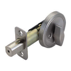 Design House 750836 Deadbolt Stainless Steel Satin Nickel Boxed