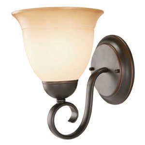 Design House 512657 Sconce Wall 1-Light Cameron Orb Tm