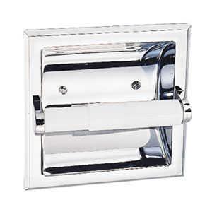 Design House 533125 Millbridge Chrome Recessed Toilet Paper Holder