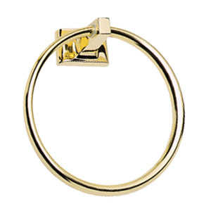 Design House 533349 Polished Brass Millbridge Towel Ring