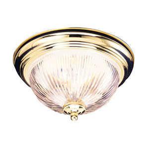 Design House 503037 Ceiling Mount 1-Light Millbridge Polished Brass