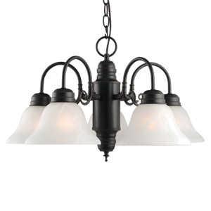 Design House 514455 Chandelier 5-Light Millbridge Orb