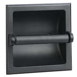 Design House 539254 Millbridge Oil Rubbed Bronze Recessed Toilet Paper Holder