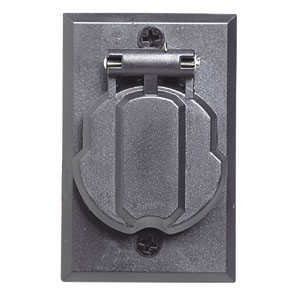 Design House 502112 Outlet Post Replacement Black