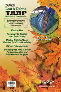 DeWitt LEAFTARP6X6-24 Leaf Tarp 6x6