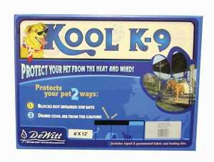 DeWitt KK612BX Kennel Kool Cover K-9 6x12