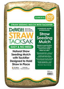 DeWitt STRTS-28 Straw TackSak Seeding Mulch 28lb