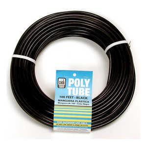 Dial Mfg 4321 Tubing Poly 1/4X100 ft Black