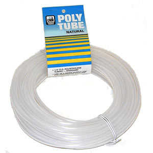 Dial Mfg 4294 Tubing Poly 1/4X50 ft Natural
