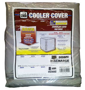 Dial Mfg 8756 Weatherguard Poly Cooler Cover 37x37x42 Side Draft