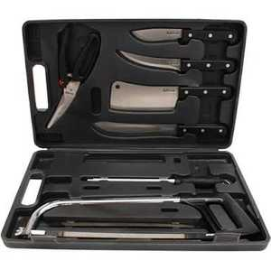 WESTON PRODUCTS, LLC 83-7001-RT Weston Products Realtree Knife Set Game Processing 10pc
