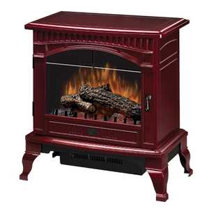 Dimplex DS5629CR Gloss Cranberry Traditional Electric Stove